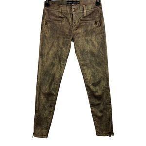 Ralph Lauren Black Label 400 Pants Gold & Black 27